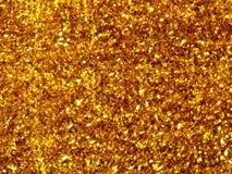 Gouden schuursponsje Royalty-vrije Stock Foto's