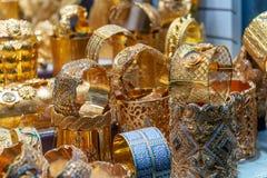 Gouden Souk in Doubai, Verenigde Arabische Emiraten royalty-vrije stock afbeeldingen