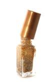 Gouden spijkerpoetsmiddel Royalty-vrije Stock Afbeeldingen