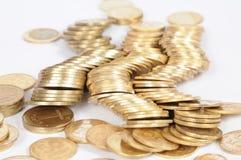 Gouden spleten stock afbeeldingen