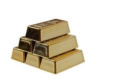 Gouden staaf royalty-vrije stock fotografie