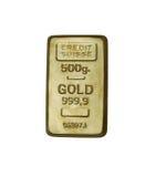 Gouden staaf Stock Foto