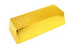 Gouden staaf Stock Afbeelding