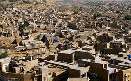 ?Gouden Stad? - Jaisalmer Stock Foto's