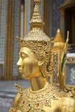 Gouden standbeeld Stock Afbeeldingen