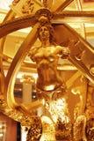 Gouden standbeeld Stock Fotografie