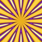 Gouden starburst Stock Afbeeldingen