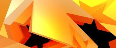 Gouden ster Stock Afbeeldingen
