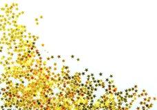 Gouden sterren Stock Afbeelding