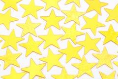 Gouden sterren Royalty-vrije Stock Foto