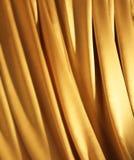 Gouden Stof Royalty-vrije Stock Fotografie