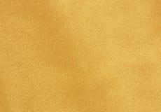 Gouden stoffentextuur Stock Afbeeldingen