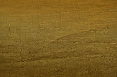 Gouden stoffentextuur Stock Fotografie
