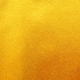 Gouden stoffenzijde voor achtergrond Stock Foto
