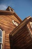 Gouden stormloop in Bodie Town Royalty-vrije Stock Foto's