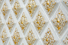 Gouden streep Royalty-vrije Stock Afbeelding