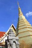 Gouden stupa Stock Foto's