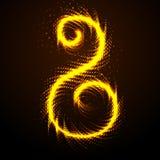 Gouden symbool Stock Afbeeldingen