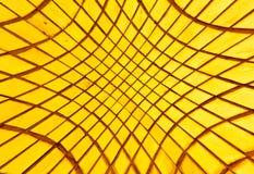 Gouden tegelstextuur als achtergrond Stock Fotografie