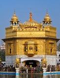 Gouden tempel Stock Afbeeldingen