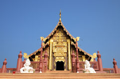 Gouden tempel Royalty-vrije Stock Foto