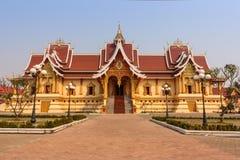 Gouden tempel Stock Afbeelding