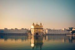 Gouden tempel Stock Foto's