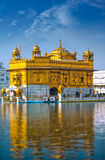 Gouden Tempel India Royalty-vrije Stock Afbeeldingen