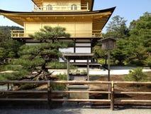 Gouden tempel in Kyoto Royalty-vrije Stock Foto