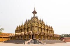 Gouden tempel in Thailand Royalty-vrije Stock Afbeeldingen