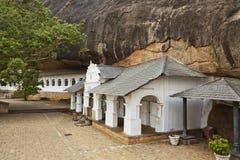 Gouden Tempel van Dambulla Royalty-vrije Stock Foto's