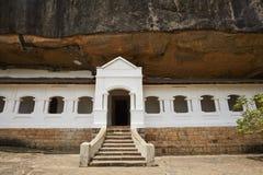 Gouden Tempel van Dambulla stock fotografie