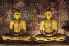 Gouden Tempel van Dambulla, Sri Lanka Royalty-vrije Stock Foto