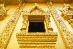 Gouden tempel in Wat Sri Pan Ton, Nan, Thailand Stock Afbeelding
