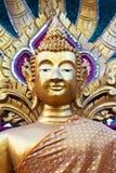 Gouden tempelstandbeeld Royalty-vrije Stock Afbeelding