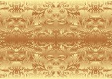 Gouden textuur Royalty-vrije Stock Afbeelding