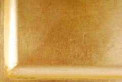 Gouden textuur macroachtergrond Stock Fotografie