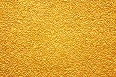 Gouden textuurachtergrond Stock Foto's