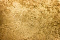 Gouden textuurachtergrond Uitstekend goud Stock Foto's