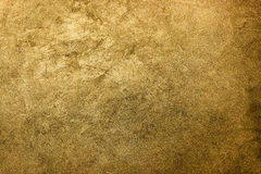 Gouden textuurachtergrond Uitstekend goud Royalty-vrije Stock Afbeeldingen