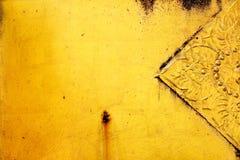 Gouden textuurbehang Royalty-vrije Stock Foto's