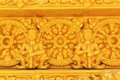 Gouden Thais patroon stock foto