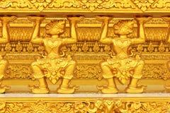 Gouden Thais patroon royalty-vrije stock fotografie