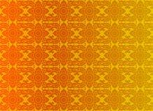 Gouden Thaise uitstekende patroon vectorachtergrond Royalty-vrije Stock Foto's