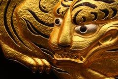 Gouden Tijger in Osaka Castle Royalty-vrije Stock Foto
