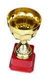 Gouden toekenningskop Royalty-vrije Stock Foto's