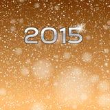 Gouden toon 2015 Stock Afbeelding