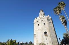 Gouden Toren Royalty-vrije Stock Afbeeldingen