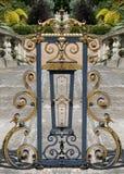 Gouden traliewerk 3 Stock Afbeelding