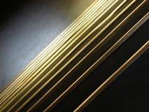 Gouden treden Stock Foto's